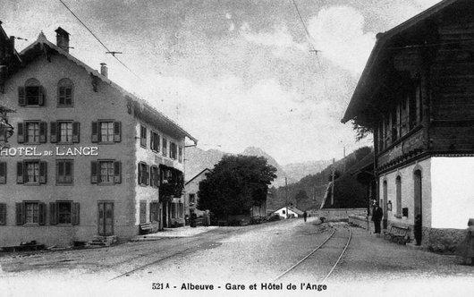 Albeuve, Hôtel de L'Ange