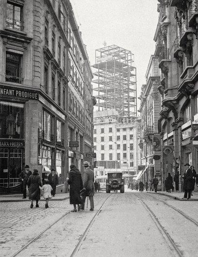 Photos anciennes de Lausanne film