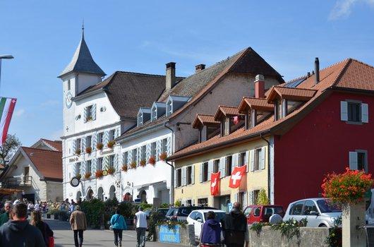 Hôtel de commune de Lignières (Ne)