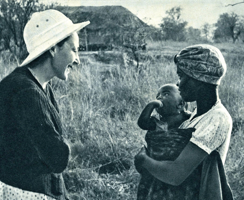 Edmée Cottier Sourcienne en Afrique