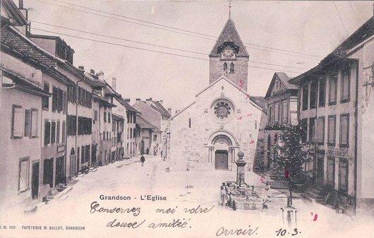 Grandson rue Haute Eglise St-Jean Baptiste