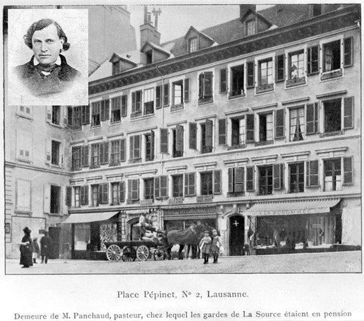 Demeure du pasteur Painchaud de La Source
