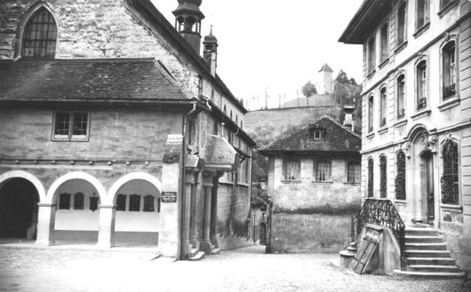 Fribourg, Eglise Saint  Maurice