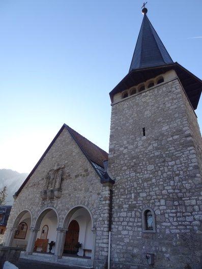 Château-d'Oex / Eglise Sainte-Thérèse de l'Enfant-Jésus