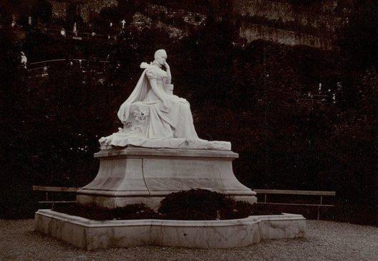 Territet parc des Roses Sissi Élisabeth impératrice d'Autriche