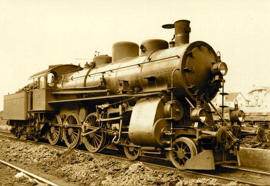 Locomotive du Gothard A 3/5