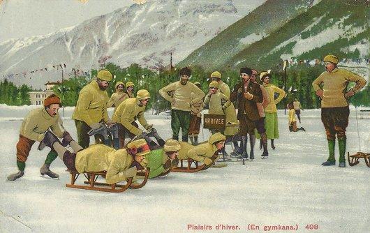 Plaisirs d'hiver à Chamonix