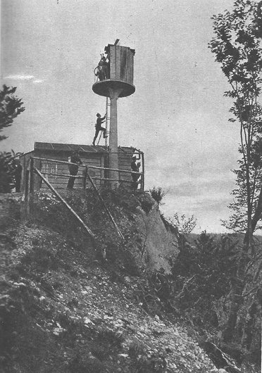 Gardes suisse au Raemel