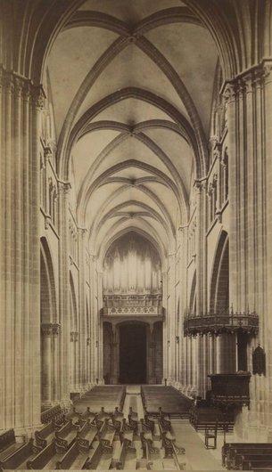 Genève Nef cathédrale St-Pierre