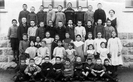 Classe de Bercher, vraisemblablement en 1914