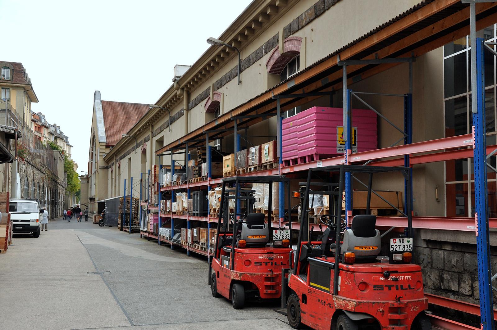 Anciennes Halles Du D P T Des Locomotives De Lausanne