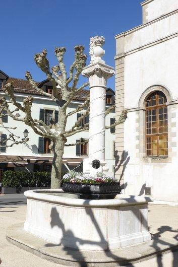 Carouge, une des fontaines de Blavignac