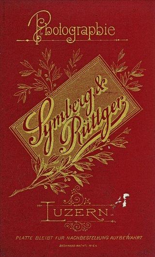Cartouche de Symberg & Rüttger, Lucerne