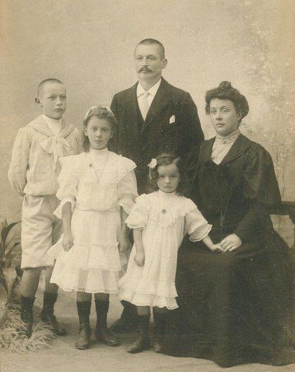 Une famille lausannoise au début du XXème siècle