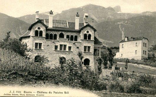 Sierre, la maison du peintre Edmond Bille
