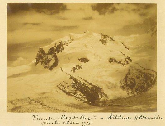 Vue du Mont-Rose