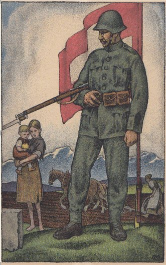 Tombola en faveur du Don national 1919