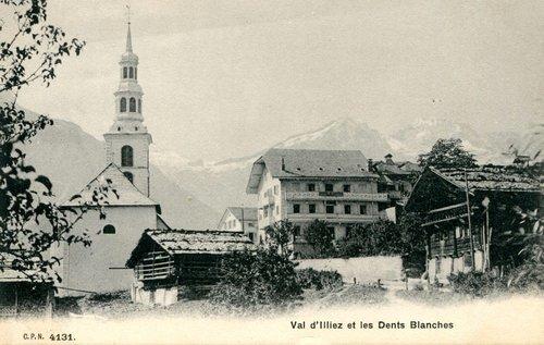 Le village de Val d'Illiez