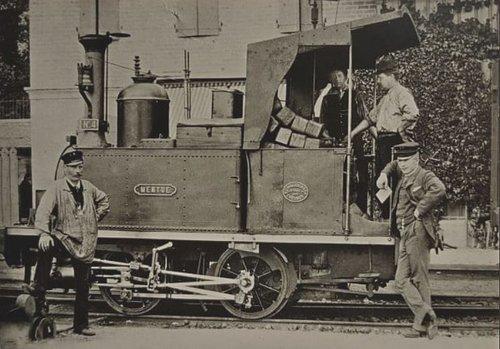 Lausanne-Echallens-Bercher locomotive