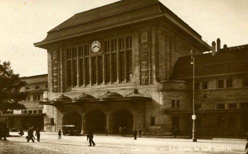 Bâtiment de la gare de Lausanne