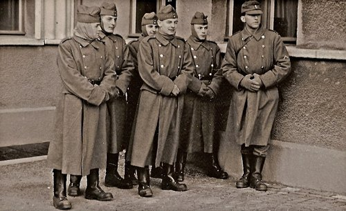 ER infanterie et paiement de galon en 1962
