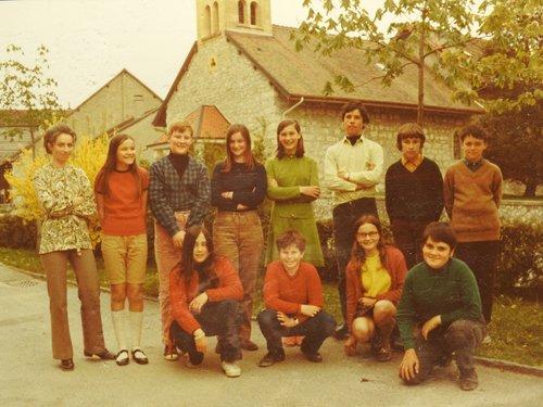 Oulens classe école  ~1972