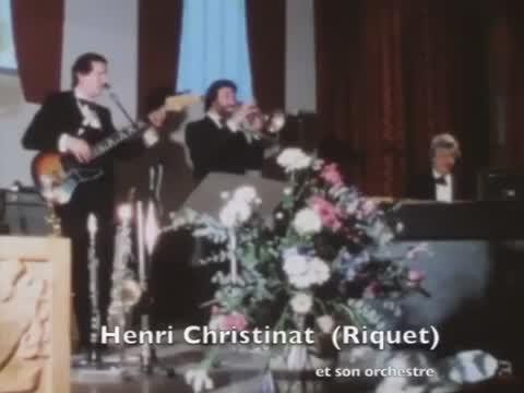 """Orchestre """"Riquet"""" Christinat."""