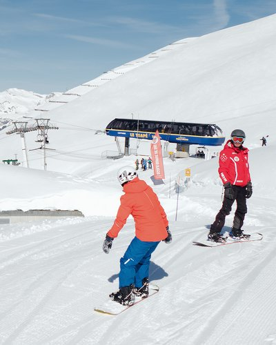 L'école de snowboard (2)