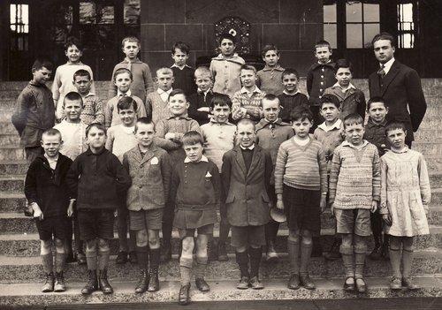 Genève, école du Mail, Jonction, 1929