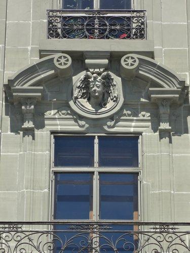 Au deuxième étage du bâtiment Quai Perdonnet à Vevey