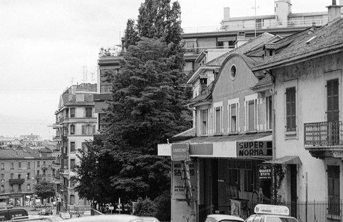 Genève, Rue Adrien Lachenal