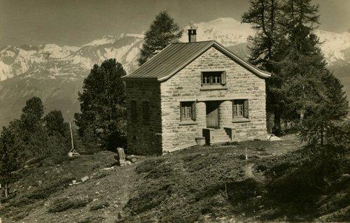 Chandolin, cabane de l'Illhorn