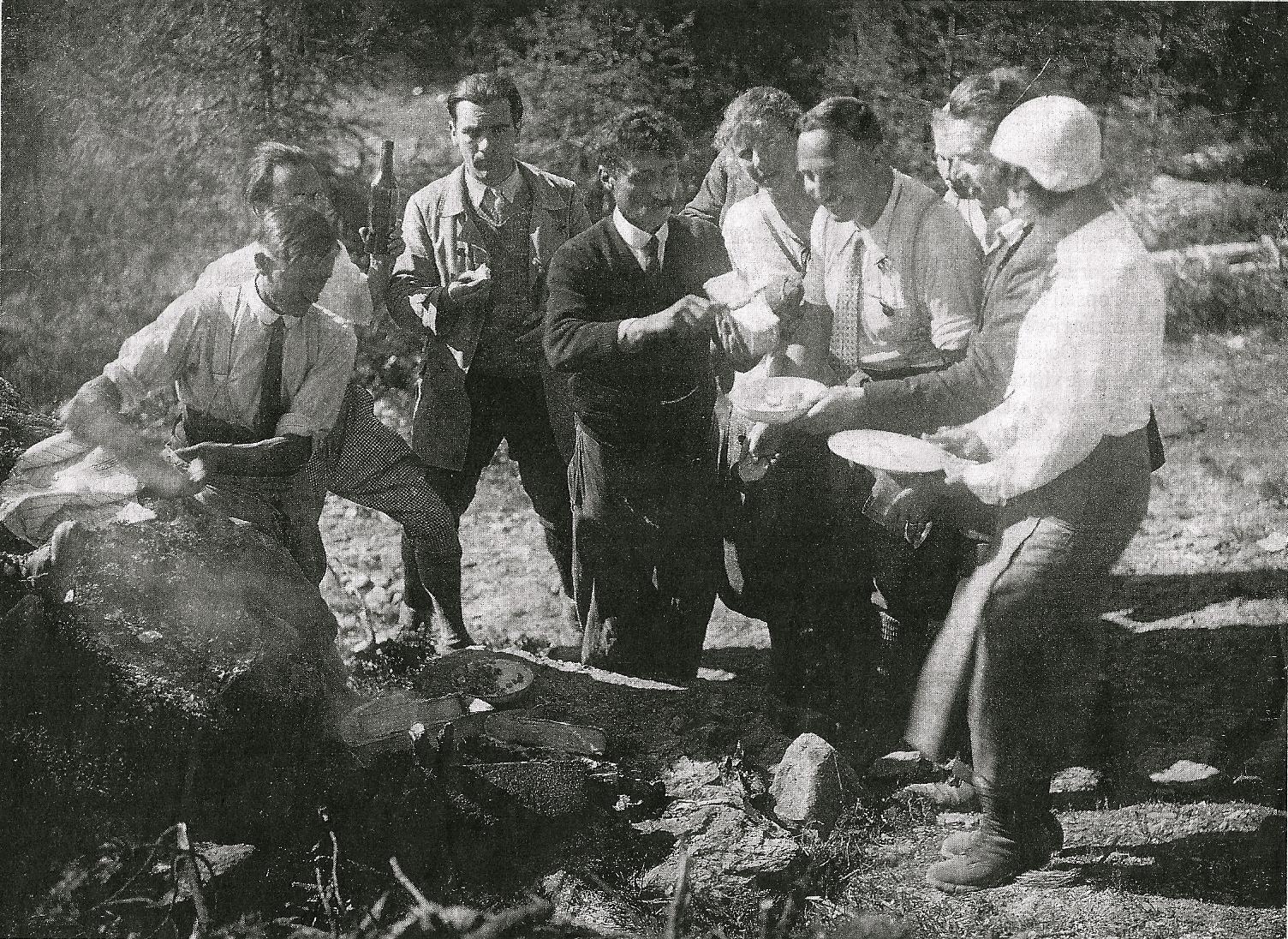 Raclette pour les touristes