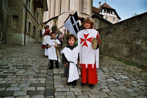 Fête médiévale en Vieille Ville de Fribourg