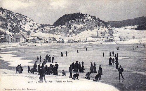 Le Pont en hiver
