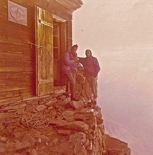 Bivouac Solvay, 4003 mètres