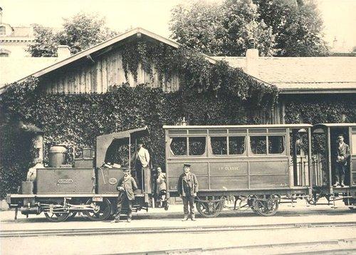 Lausanne Chauderon la gare du LEB