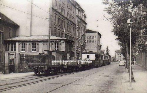 Lausanne avenue d'Echallens le LEB