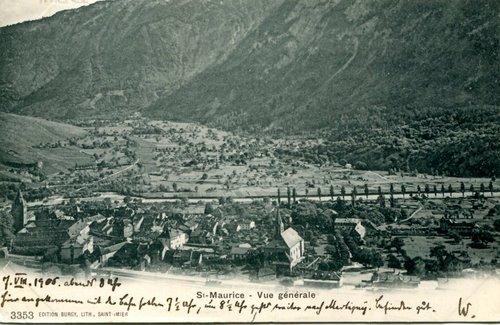 St-Maurice, au début du 20ème