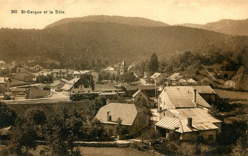 Le village de Saint-Cergue