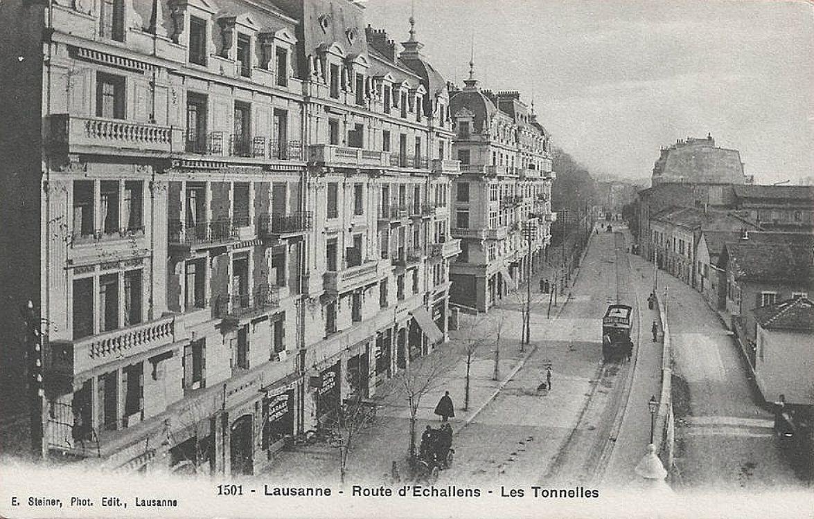 Lausanne Avenue d'Echallens