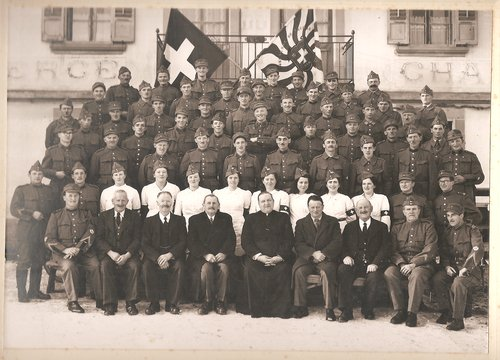 Les soldats de Vauderens