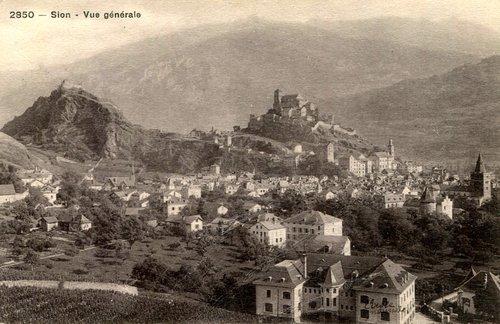 Sion, vue générale