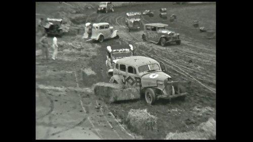 Stockcar au vélodrome de Plan-le-Ouates (GE)  - 1954
