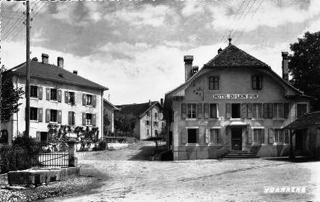 Vuarens Hôtel du Lion D'Or