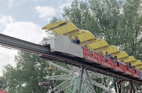Lausanne, Expo 1964. Le Monorail