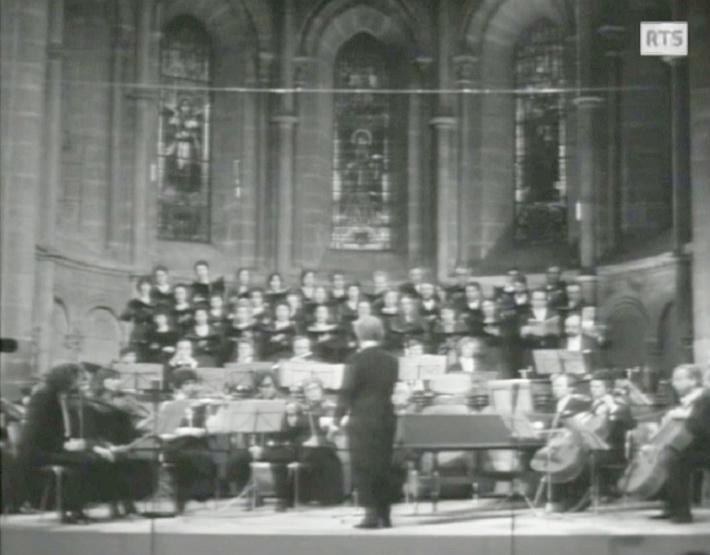 «Magnificat de Bach - Michel Corboz», 2 mars 1973, Cathédrale de Genève, Radio Télévision Suisse