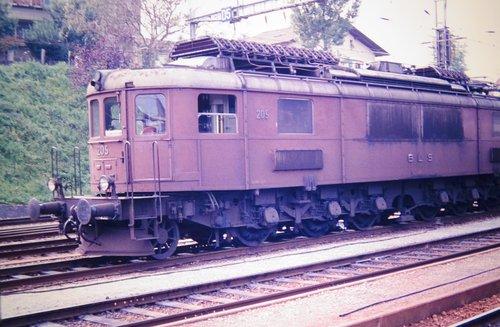 Locomotive Ae 6/8 du BLS