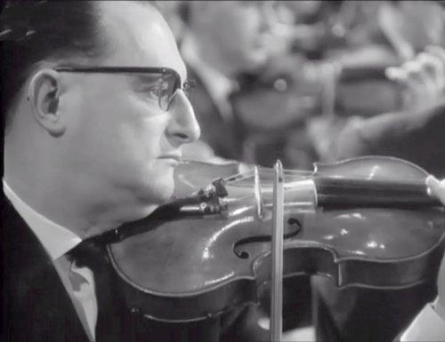 Johannes BRAHMS, Concerto pour violon, Michel SCHWALBÉ, OSR, Ernest ANSERMET, 09.12.1964