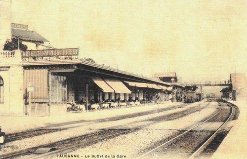 Lausanne le Buffet de la Gare